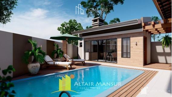 Casa Nova 3 Quartos Com Piscina E Próxima Da Praia À Venda Em Itapoá - 2400