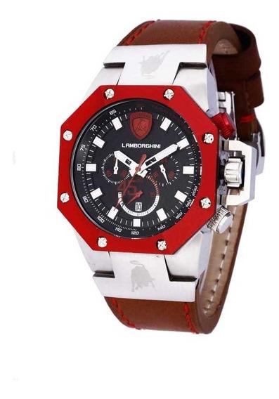 Relógio Lamborghini Quartz(modelo Lb90004662m)