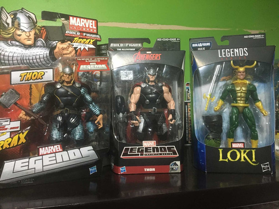 Lote Thor 3 Figuras