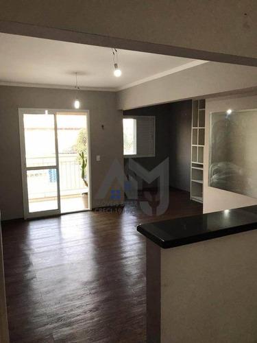 Apartamento Com 3 Dormitórios À Venda, 68 M² Por R$ 413.000 - Ap0051