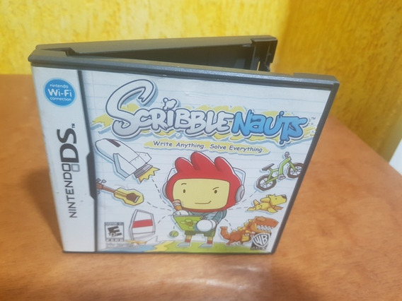 Scribble Nauts Usado Original Usa Nintendo Ds