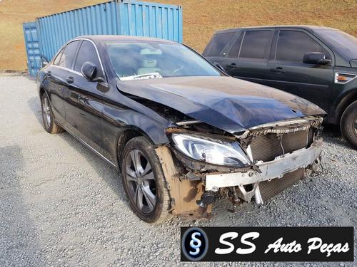 Imagem 1 de 2 de Sucata De Mercedes Benz Classe C180 2015 - Retirada De Peças