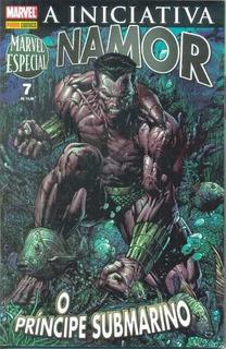2008 Hq Quadrinhos Marvel Especial Nº 7 Namor