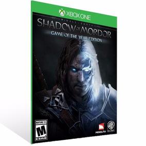 Shadow Of Mordor - Goty Xbox One Digital Online