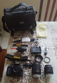 Câmera Nikon D3200 + Acessórios