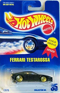 Vehículos Fundidos A Troquel,juguete Ferrari Testarossa ..