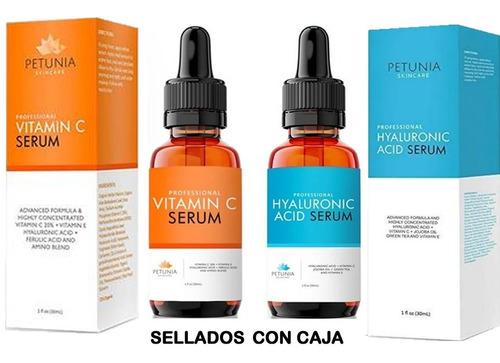 Ácido Hialurónico Más Vitamina C De 30ml C/u