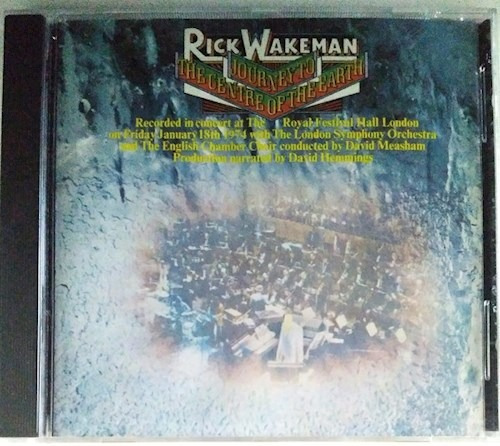 Journey To The Centre Of Th - Wakeman Rick (cd)