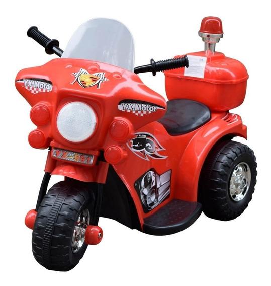 Moto 3 Ruedas A Bateria Niño 6v Policia Love 3006 Tiendamibb