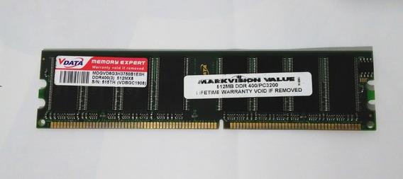 Memória Vdata 512 Mb 400mhz Pc3200 Ddr Dimm 184 Pinos