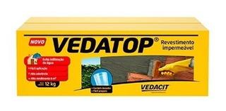 Impermeabilizante Vedatop Galão De 3kg - Vedacit-kit C/6 Cxs