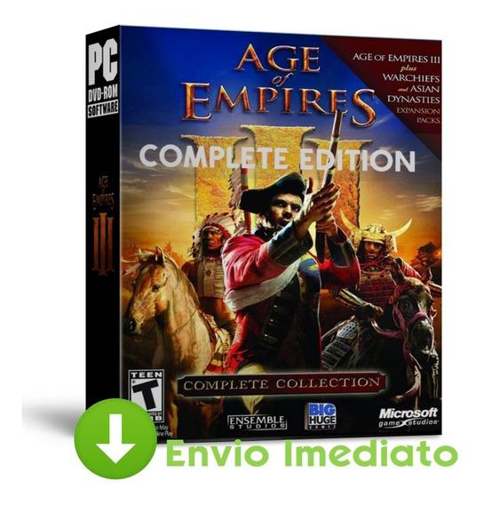 Age Of Empires 3 Pc Complete Edition Estrategia 2019
