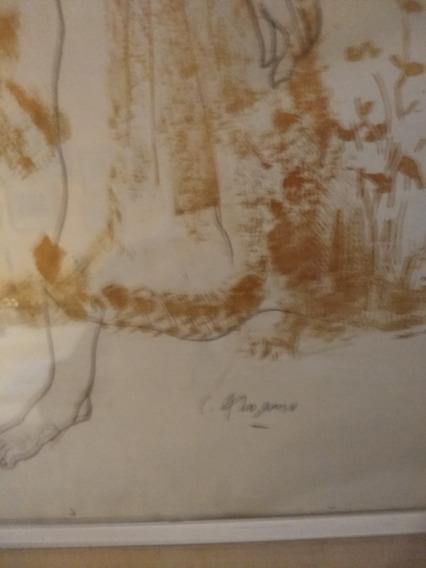 Pintura Original De Carlos Alonso