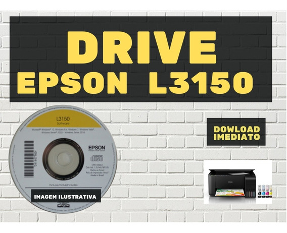 Drive Impressora Multifuncional Ecotank L3150