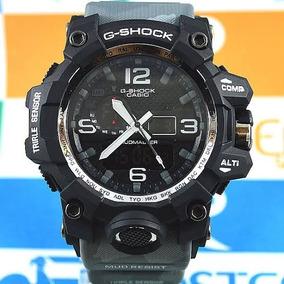 Relógio G-shock Mundmaster Preto E Camuflado