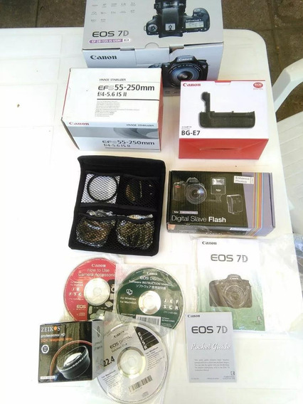 Canon Eos 7d - Kit -