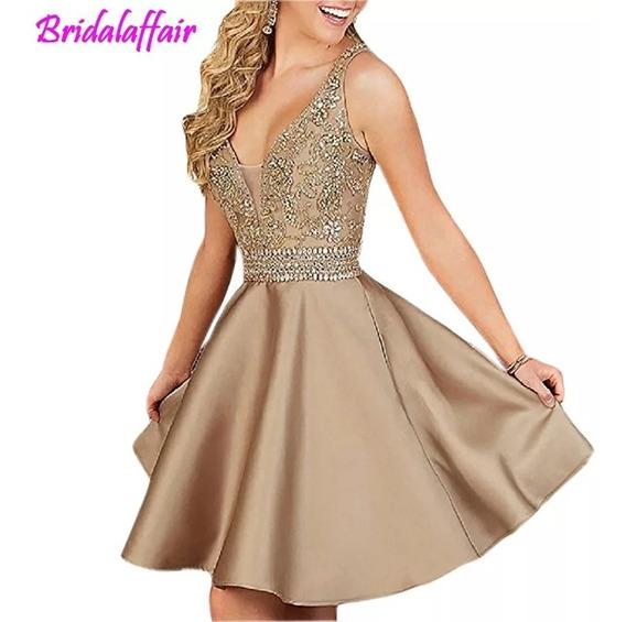 Vestido Dourado Noiva/ Debutante Lindo Demais