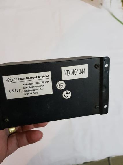 Controlador De Carga Para Energia Solar 10a