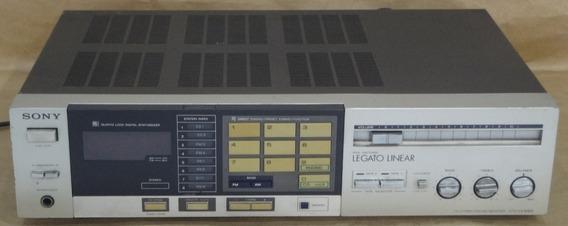 Receiver Antigo Sony Str-vx 30 Bs Retirada De Peças