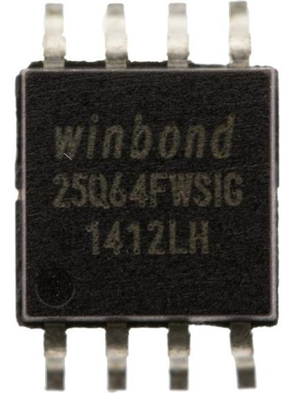 25q64fwsig W25q64fwsig 25q64 25q64fw W25q64 Pack 10 Unidades