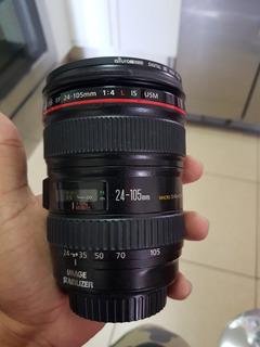 Lente Canon Ef 24-105mm 1:4 L Is Usm