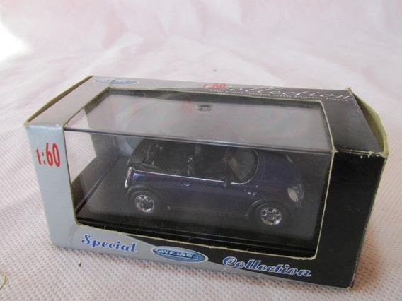 Retro Juguete Auto Mini Cooper 1/60 Die Cast Welly #l