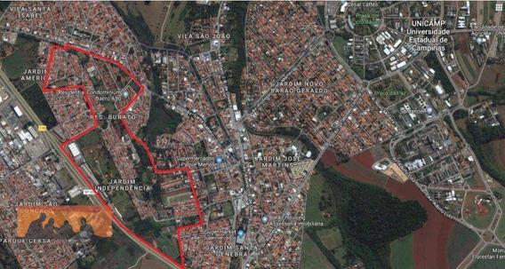 Terreno Residencial À Venda, Jardim Independência, Campinas. - Te0179