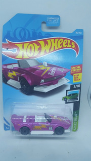 Hot Wheels Speed Blur Track Manga Rosa