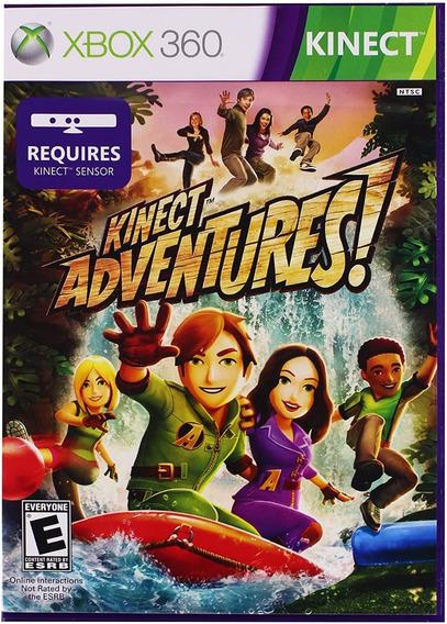Kinect Adventures-jogo Para Xbox 360
