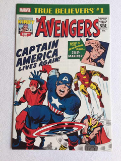 The Avengers #1 True Beliers Jack Kirby