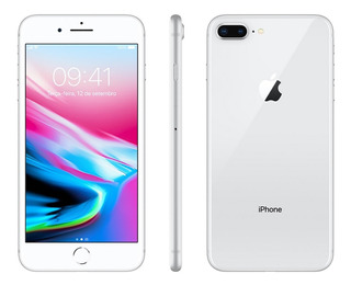 Apple iPhone 8 Plus Prata 64gb Homologado Anatel