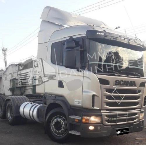 Imagem 1 de 9 de Caminhão Scania G 420 - 6x2 T