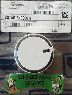 Botão Comando Lavadora Consul 11/12/13/16 Kilos