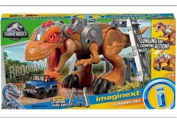 Imaginext Gran T-rex Jurassic World Dinosaurio Tiranosaurio