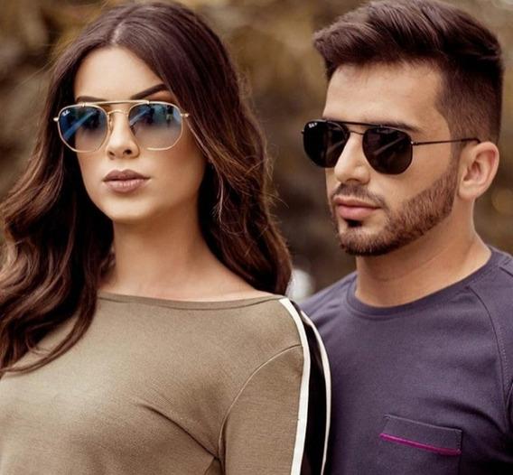 Óculos Sol Ray-ban Marshal Rb3648 Lançamento Feminino Mascul