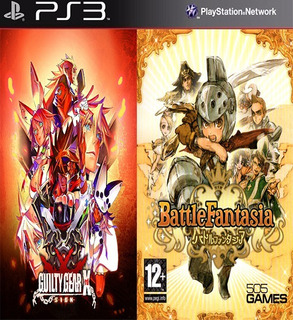 Guilty Gear Xrd -revelator & Battle Fantasia Digital Ps3