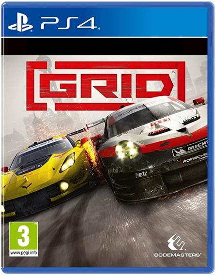 Game Grid Ps4 Disco Fisico Lacrado Original Dublado Promoção
