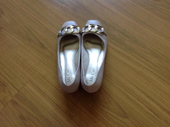 Sapato Scarpin Salto Baixo Tamanho 35