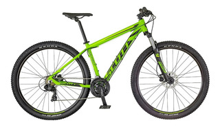 Bicicleta Scott Aspect 760 Verde/amarillo Mountain Bike 27.5