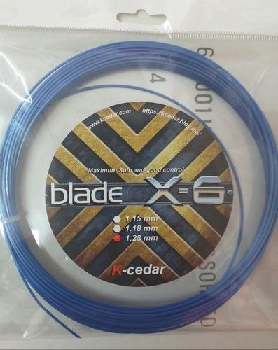 Set Individual De Cuerda K-cedar Blade X-6 Hexagonal