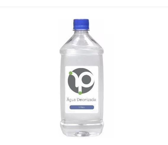 Água Deionizada 1l - Solução Limpeza Ink Jet Cartuchos Tinta