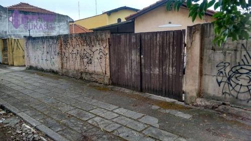 Terreno À Venda, 540 M² Por R$ 1.300.000,00 - Vila Curuçá - Santo André/sp - Te0075
