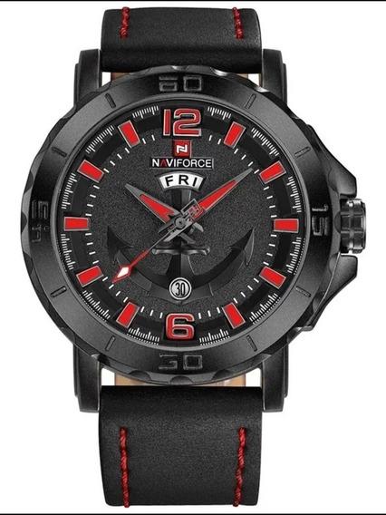 Relógio Naviforce Nf9122 Luxo Esportivo