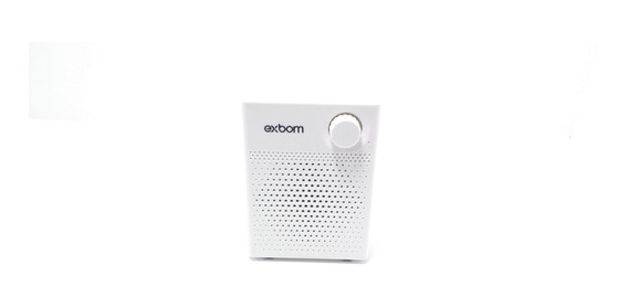 Microfone Professor Megafone Amplificador Bluetooth Branco