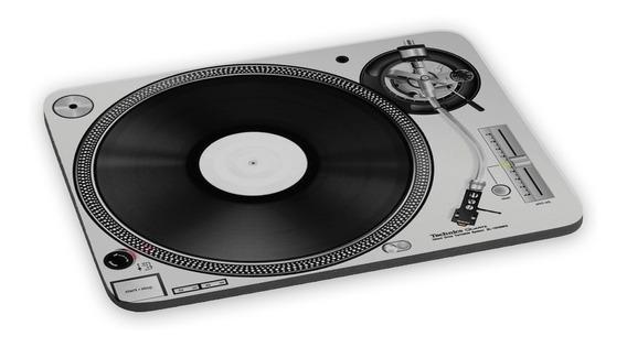 Mousepad Pickup Dj Disco Vinil Mixagem Música Retrô Vintage