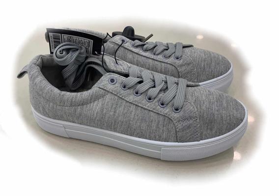 Zapatos Plataforma Suela Alta Tip Vans Lona Mayor Detal