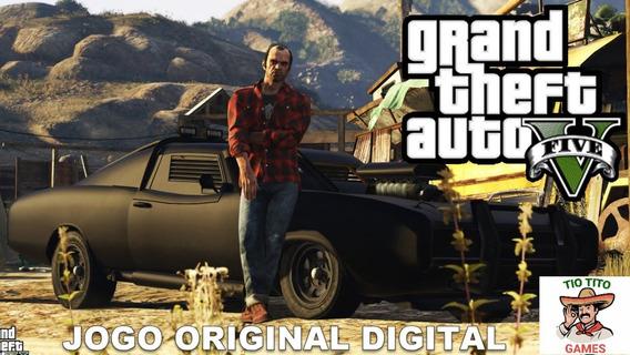Jogo Gta 5 Digital - Funciona Em Xbox 360 Original