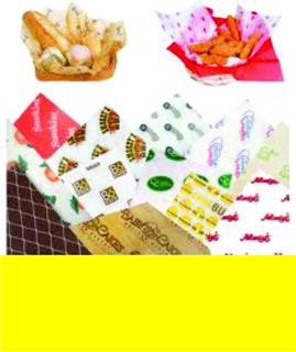 Papel Grado Alimenticio Personalizad 5,000 Hjs 1 Color 30x30
