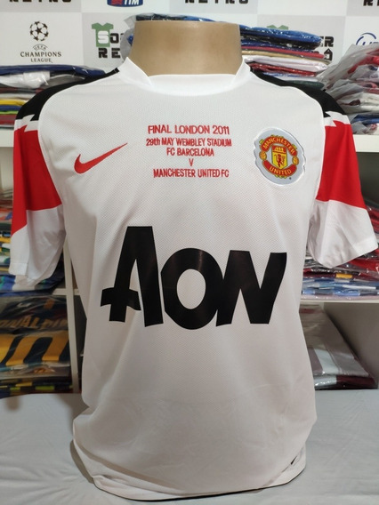 Camisa Manchester U. Final Champions 2011 Giggs 11 À P/ Entr
