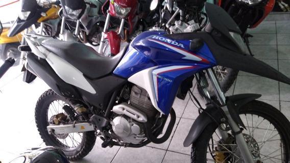 Honda Xre 300 2014 Freio Abs Azul Nova Troca Financia Cartão